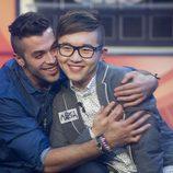 Vera y Han se dan un abrazo amistosamente en 'Gran Hermano 16'