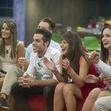 Carolina, Carlos, Marta, Niedziela y Aritz en 'Gran Hermano 16'