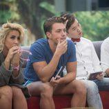 Amanda, Carlos, Han y Aritz en 'Gran Hermano 16'