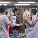 Pablo López visita la casa de 'Gran Hermano 16'