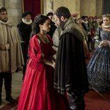 Ricardo e Isabel en la tv movie 'La española inglesa'