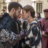 Carlos de Austria e Isabel de Portugal se besan en 'Carlos, Rey Emperador'