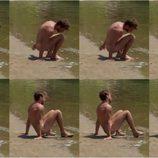 Secuencia de imágenes del desnudo y miembro viril de ''Dodo'' en 'Adán y Eva' Italia