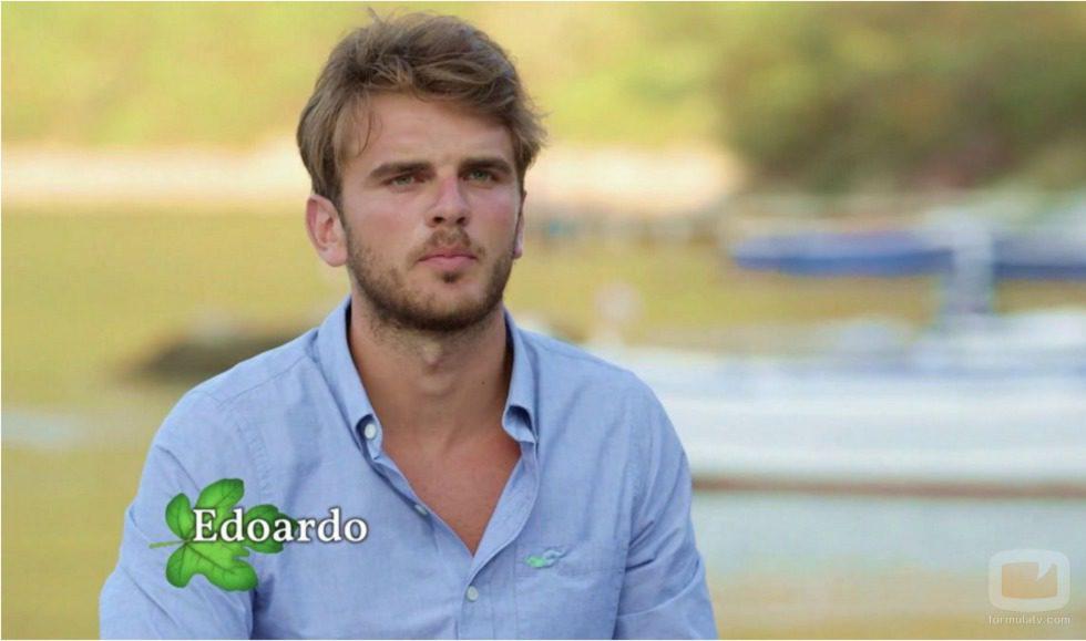 Presentación de Edoardo en 'Adán y Eva' Italia