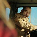Crespo conduce un gran camión en 'Rabia'