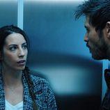 Bárbara habla con el comisario Santa en 'Rabia'