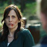 Silvia tiene toda la cara repleta de heridas en 'Rabia'