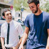 Antonio Díaz y Ricky Rubio en 'El Mago Pop: 48 horas con Ricky Rubio'