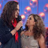Jordi Rebellón y Lolita en 'Tu cara me suena'