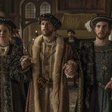 Los tres hermanos en 'Carlos, Rey Emperador'