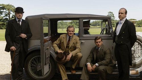 Los personajes masculinos también estarán en el último capítulo de 'Downton Abbey'