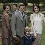 La familia completa de 'Dowton Abbey'