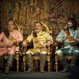 El Cadenal Mendoza, Sátur y Gonzalo en 'Águila Roja'