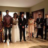 Todo están listo para el enlace matrimonial entre Fara y Lucas en 'Mar de plástico'
