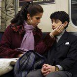 Ana Ortiz y Mark Indelicato en el episodio