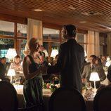 Patricia y Valentin en la fiesta de su compromiso en 'Velvet'