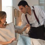 Alberto visita a Cristina al hospital en 'Velvet'