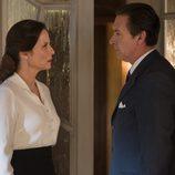 Doña Blanca y Esteban en 'Velvet'