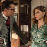 Raúl de la Riva y Cristina Otegui en 'Velvet'