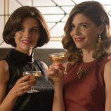 Bárbara y Cristina brindan en 'Velvet'
