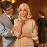 Valentín está pendiente en todo momento de su prometida Patricia en 'Velvet'