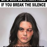 "Kendall Jenner agredida para ""Break the Silence"""
