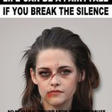 "Kristen Stewart con la cara demacrada para ""Break the Silence"""