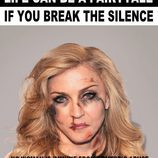 "Madonna agredida para ""Break the silence"""