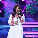 Vicky Larraz en la undécima gala de 'Tu cara me suena'