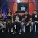 Sofía, Niedziela, Vera, Ricky y Carlos en 'Gran Hermano 16'