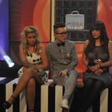 Marina, Han y Marta en la sala de nominados de 'Gran Hermano 16'