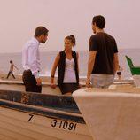 Pilar está en la playa con Lucas en 'Mar de plástico'