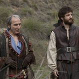 Zigor y Malasandre en 'Aguila Roja'