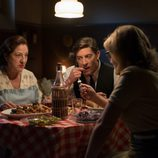 Concha, Pedro y Rita cenan en 'Velvet'