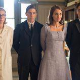 Ana, Rita, Pedro y Raúl juntos y muy unidos en 'Velvet'