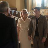Rita y Pedro en la fiesta de bienvenida en 'Velvet'
