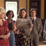 Cristina, Patricia, Bárbara y Enrique desconsolados en 'Velvet'