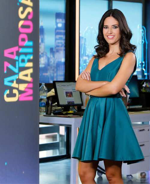 Núria Marín radiante en 'Cazamariposas'