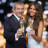 Carlos Sobera y Cristina Predroche, presentadores de las Campanadas 2015 en Antena 3