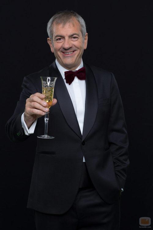 Carlos Sobera, presentador de las Campanadas 2015 en Antena 3