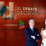 Ana Pastor y Vicente Vallés, presentadores de '7D: el debate decisivo'