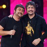 El Sevilla con los Estopa en la duodécima gala de 'Tu cara me suena'