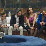 Han, Aritz, Niedziela y Marta en 'Gran Hermano 16'