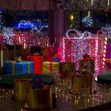 Luces navideñas en 'Gran Hermano 16'