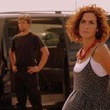 Marta no le gusta lo que está viendo en 'Mar de plástico'