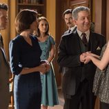 Todos están atentos de Cristina y de su embarazado en 'Velvet'