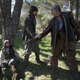 Malasangre y su puñal a Zigor en 'Águila Roja'