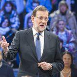 El presidente del Gobierno, Mariano Rajoy  en 'La Sexta Noche'