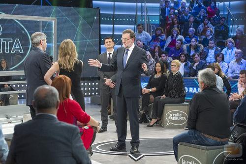 Todos los ciudadanos observan a Rajoy en 'laSexta Noche'