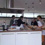 El jurado de 'Master Chef en la cocina de 'En la tuya o en la mía'